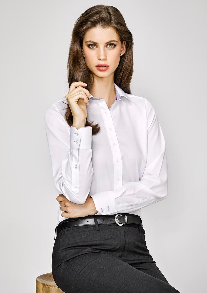 41820 Ladies Long Sleeve Herne Bay Shirt  Career Dressing